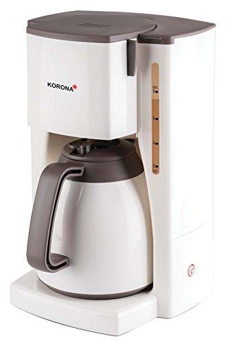 Korona 10410 Kaffeemaschine mit Thermokanne - Filter Kaffeeautomat mit Kapazität für 8 Tassen Kaffee