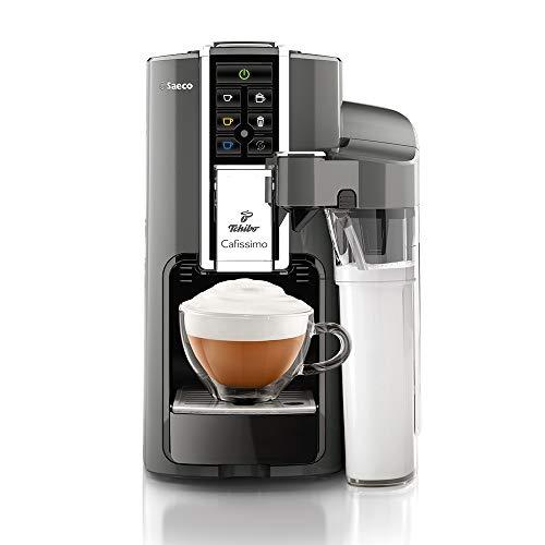 Tchibo Saeco Cafissimo Latte Kaffeemaschine, Argento