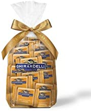 Ghirardelli Chocolate Squares Holiday Gift Bag - 80 Count Assorted (Milk Chocolate Caramel)