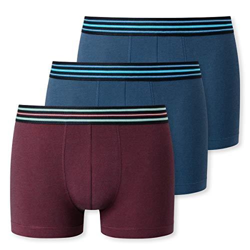 Schiesser Herren 3PACK Shorts Unterwäsche, Sortiert 3, 7