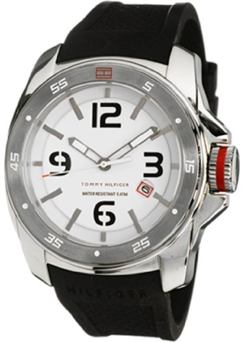 Tommy Hilfiger Synthetic Collection White Dial Men's Watch #1790710