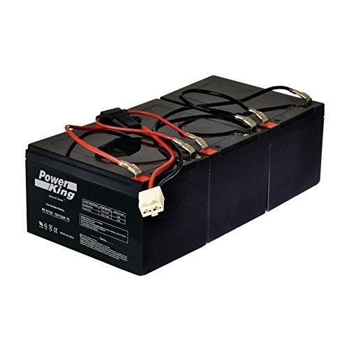 Razor 36 Volt 12 AH MX500 & MX650 Battery Pack Includes Battery Wire Harness (3) 12V 12ah Beiter DC Power Easy Slide On Terminals Versions 1-7