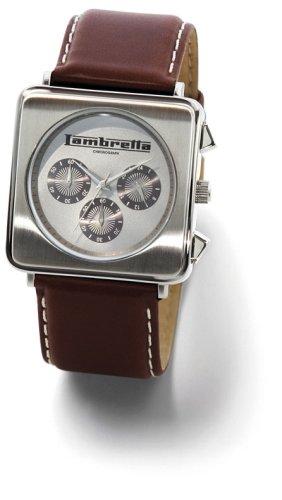 Lambretta LA2051/SIL - Reloj de caballero - sumergible a 50 metros
