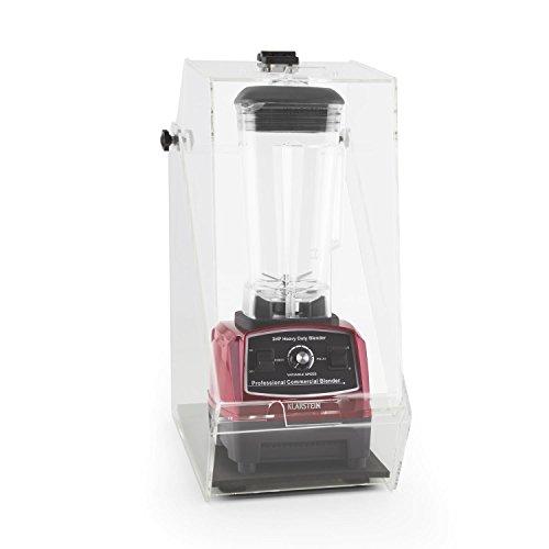 Klarstein Herakles-2G Standmixer Power-Mixer Smoothie-Mixer (sehr leise, 1200 W Mixer, 32.000 U/min, 2 l Krug, BPA-frei) rot