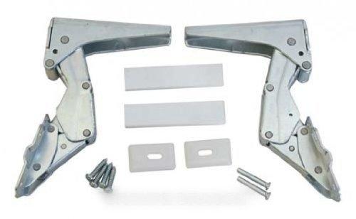 Bisagra inferior (paquete de 2) para frigorífico Fagor, Brandt, De Dietrich, Sauter, Vedette