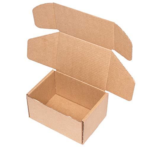 Kartox   Caja de Cartón Kraft Para Envío Postal   Caja de Cartón Automontable para Envío o Almacenaje   20 X 15 X 11   20 unidades