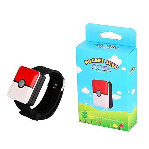 Pokemon Go Plus Pulsera De Captura Automática para Bluetooth, Pulsera Cuadrada Recargable, Pulsera para Android iOS, Pulsera Bluetooth, Figura Interactiva