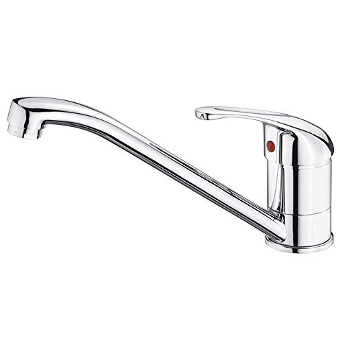 AUFUN Wasserhahn Bad Spültischarmatur Design Einhebelmischer Waschtischarmatur Küchenarmatur Armatur Mischbatterie für Küche, Waschtisch, Waschbecken, Badezimmer, Hotel - Modell G