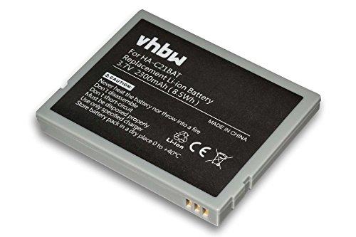 vhbw Batterie Compatible avec Casio IT-10 Scanner Portable Handheld (2300mAh, 3,7V, Li-ION)