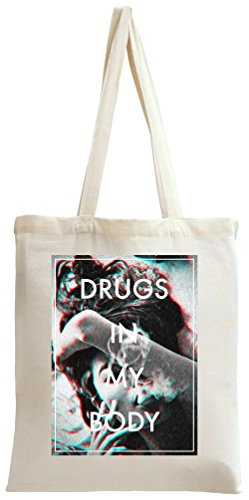 Drugs In My Body Sexy Smoke Tote Bag