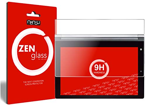 nandu I ZenGlass Pellicola Protettiva in Vetro Compatibile con Lenovo Yoga Tablet 2 10' I Protezione Schermo 9H