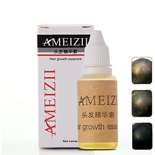 Ginger Hair Crecimiento Esencia Tratamiento de Cabello Serum Fortalece Las raíces del Cabello Anti pérdida de Cabello y Tratamiento de Adelgazamiento del Cabello Producto Profesional del cui