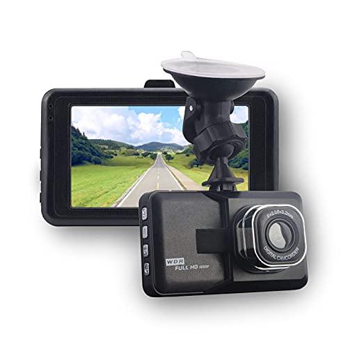 Dashcam 1080P FHD Autokamera, 3.0 Video Recorder, Auto Dash Kamera mit Nachtsicht, 120° Weitwinkel WDR, G-Sensor, Loop-Aufnahme, Bewegungserkennung, Parküberwachung