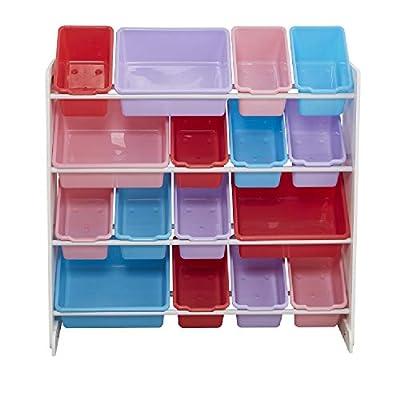 Lovinland Wooden Kids' Toy Storage Organize...