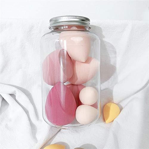 Makeup Sponge Mélanges de beauté d'éponge de maquillage, mélangeur 7pcs / paquet de base de crème de correcteur ultra-doux de base Makeup Sponge (Color : C)