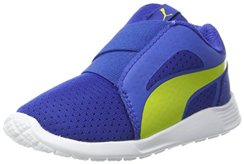 PUMA Unisex-Kinder ST Trainer Evo AC Inf Sneaker, Blau (Lapis Blue-NRGY Yellow), 20 EU