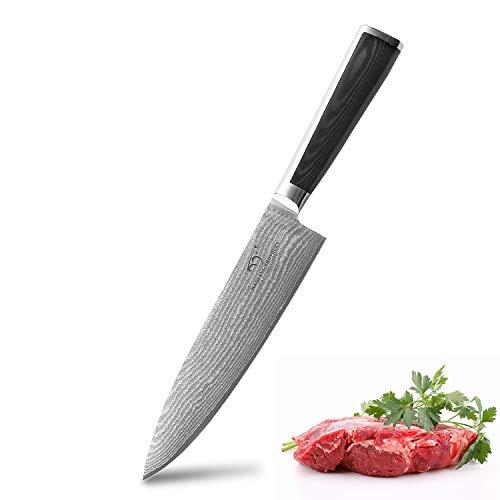 Cuchillos Cocina Damasco cuchillos cocina  Marca NANFANG BROTHERS