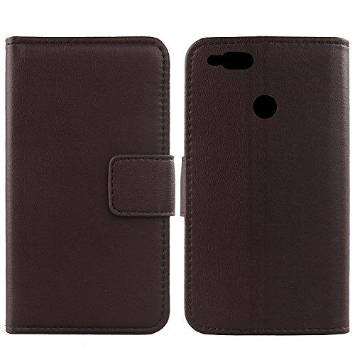 Gukas Design Echt Leder Tasche Für Archos Diamond Alpha Plus 5.2