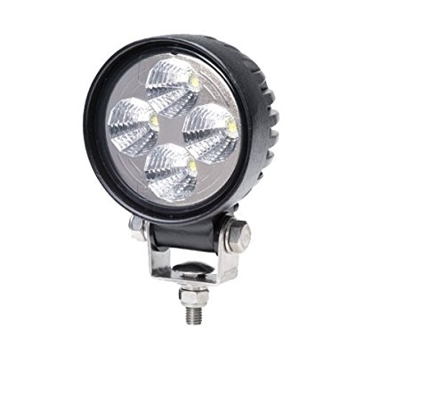 Hella 1G0 357 000-001 Arbeitsscheinwerfer - Round Valuefit - LED - 12V/24V - 500lm - geschraubt - Nahfeldausleuchtung - offene Kabelenden