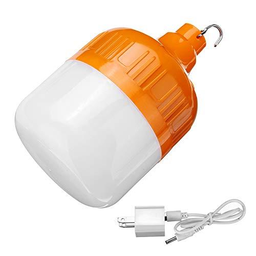 YWSZJ Bulbo de la Noche Las Luces de Emergencia luz Mercado Noche Bombilla LED Lámpara Impermeable al Aire Libre Solar de la Carga de luz de Camping