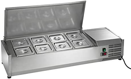 Arctic Air ACP48 47 25 Inch Countertop Refrigerated Sandwich Salad Prep Table Stainless Steel product image