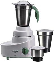 Philips HL1606 500-Watt Mixer Grinder with 3 Jars (Green)