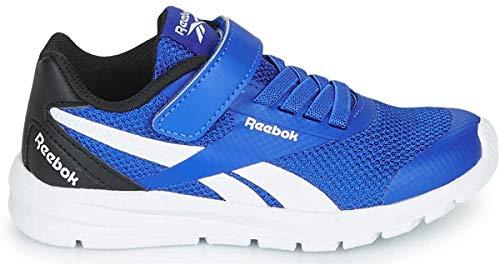 Reebok Jungen Rush Runner 2.0 Alt Sneaker, Multicolor (Humblu/Schwarz/Weiss), 28 EU