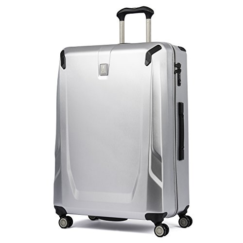 Travelpro Crew 11-Hardside Luggage with Spinner Wheels, Silver, Checked-Large 29-Inch