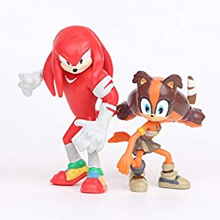 6PCS Sega Sonic The Hedgehog PVC Aktion Figur Kollektion Spielzeuge Kind Toys