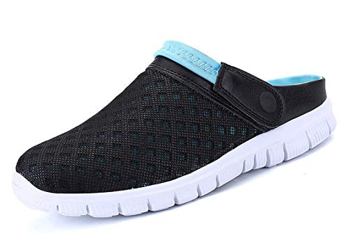 CCZZ Zuecos de Verano para Mujer Hombre Antideslizante Respirable Zapatos Zapatillas Sandalias Chanclas de Playa Ahueca hacia Fuera Las Sandalias 35-48 EU