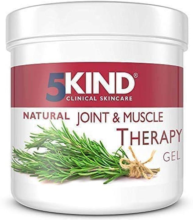 Gel antidolorifico naturale 5kind per articolazioni e muscoli ad azione antinfiammatoria con risultati garanti MUSC-001-300