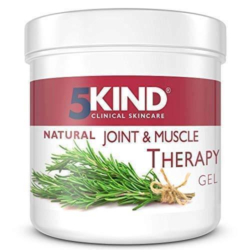 5Kind natürliches schmerzlinderndes Gel gegen Gelenk-und Muskelschmerzen erprobte entzündungshemmende Wirkung einzigartige tiefenwirksame Formel geeignet für Muskeln Knie Gelenke Hände