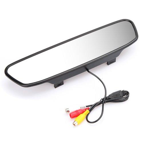 KKmoon Digital Farbe Auto Rückspiegel mit 5