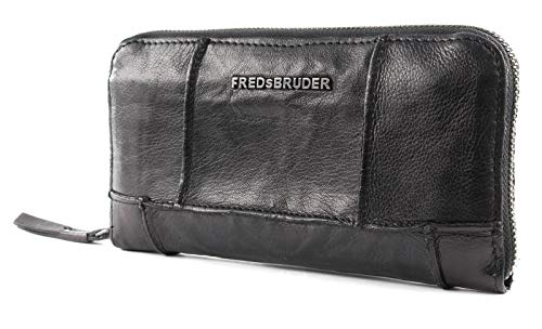 FREDsBRUDER Zippy Wallet Geldbörse in black fb-123-99-01