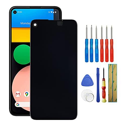 Fruisiy Pantalla OLED para Google Pixel 4a 4G G025J GA02099 LCD de repuesto táctil + herramientas