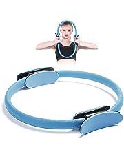 Gxhong Pilates ring, yoga ring premium weerstandsring Circle, pilates Circle, yoga-uitrusting, trainingsapparatuur voor thuis voor training en ter versterking van de binnen- en buitendijen