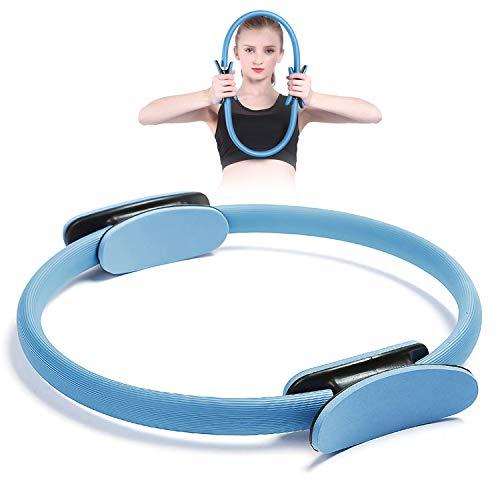 Gxhong Anello da Pilates, Ring Pilates Cerchio, Anello Yoga, Anello Pilates Yoga e Fitness Attrezzo Interno Coscia per Tonificare di Interno e Esterno Coscias