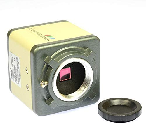 SH CHEN 800TVL 1 3 CCD Digital Industry Microscope Camera Set CS C Mount Lens Support BNC Color product image