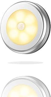 Motion Sensor Light LED, Automobile Portable Mini LED Car Reading Lamp Closet Light Night Lighting Stair Lights Safe Cordl...