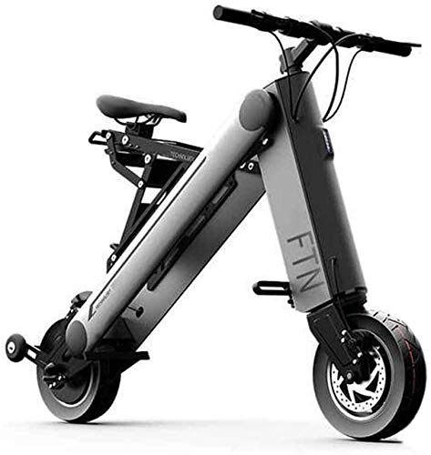 Xiaokang Bicicleta eléctrica Plegable Hombres y Mujeres Mini batería Motocicleta Pequeña Movilidad Portátil Scooter,45KM