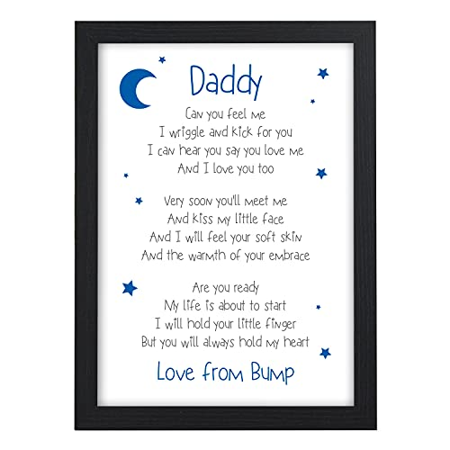 Father to Be 1st Fathers Day Gifts from Bump PERSONALISED - Handmade Custom...