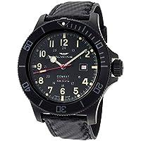 Glycine Combat Mens Analog Swiss Automatic Watch with Leather Bracelet