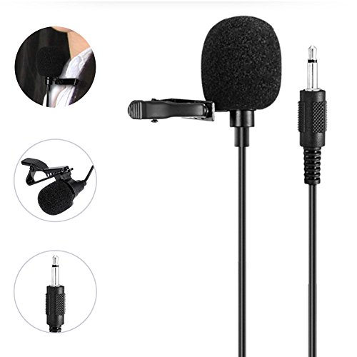 WinBridge Portable Collar Clip Microphone 3.5mm Audio Compatible with All WinBridge Voice Amplifiers S6