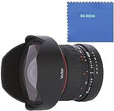 Vivitar 8mm f/3.5 HD Aspherical Fisheye Fixed Lens for Nikon D Series Digital SLR Cameras