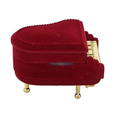 Gedourain Caja de Almacenamiento de joyería, Caja de joyería de Gran Capacidad para el día de San Valentín, día de la Madre, Navidad