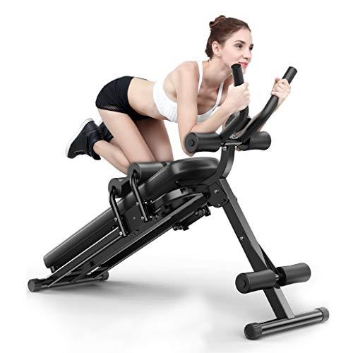 Potenziamento muscolare Macchine per Addominali Attrezzo Ginnico Addominale Attrezzo Fitness per sedersi Attrezzo Ginnico Addominale per la casa (Color : Black)