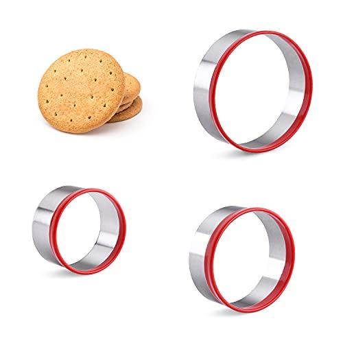 3-Piece Round Cookie Cutters