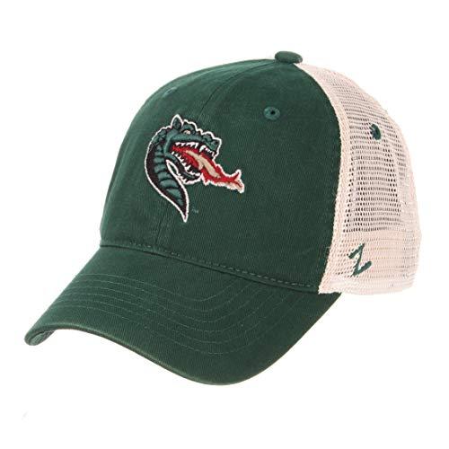 Zephyr Alabama Birmingham Blazers Summertime Snapback Cap - NCAA UAB Dragon Trucker Mesh, Adjustable Baseball Hat