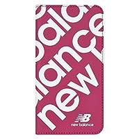 エム・ディー・シー iPhone 11用New Balance スリム手帳ケース ピンク MD-74336-4
