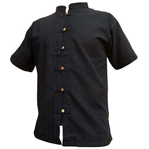 Fisher-Shirt RZI-01, Black, XXXL, shortsl.